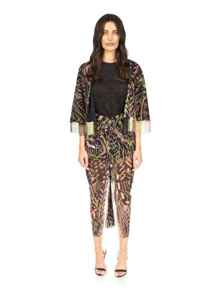 Blusa fashion tipo peplo