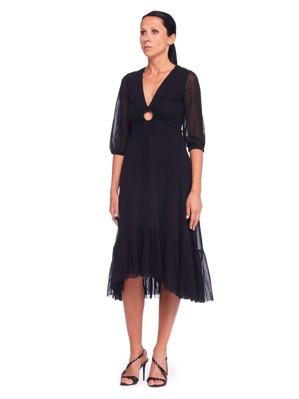 Romantic tulle dress