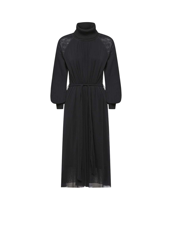 Jersey Wool Dress